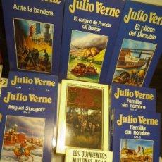 Libros: LOTE JULIO VERNE TRECE VOLUMENES MBE ORBIS. Lote 48635988