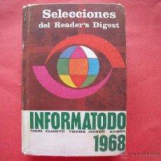 Libros: SELECCIONES.-READER'S DIGEST.-INFORMATODO.-AÑO 1968.. Lote 49758310