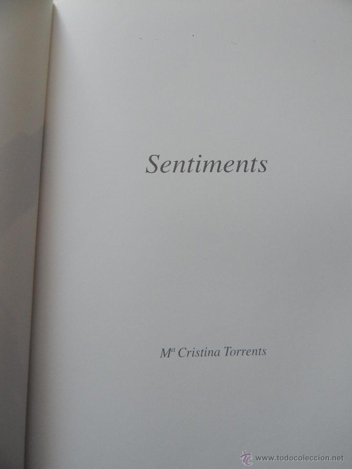 Libros: Sentiments - Mª Cristina Torrents Bertrán, 2013 - Foto 5 - 49988892