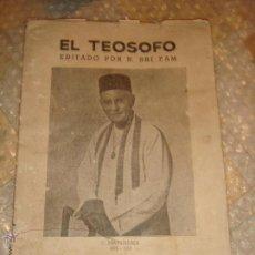 Libros: EL TEOSOFO . Lote 45400863