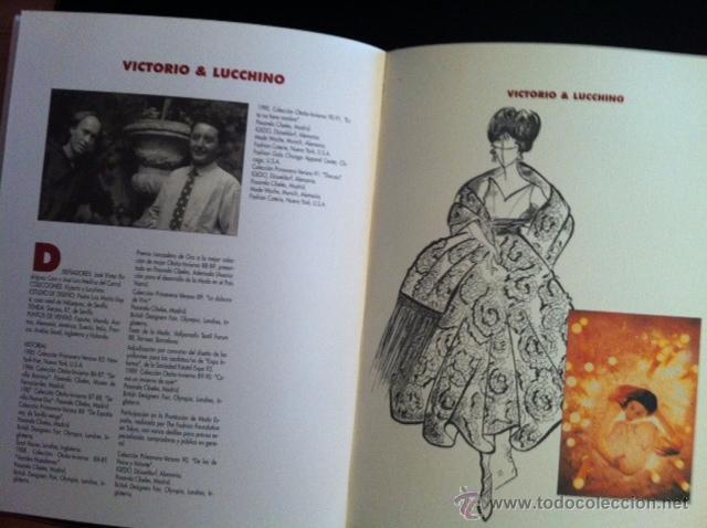 Libros: DISEÑADORES ESPAÑOLES - 1990 - Adolfo Domínguez, Antonio Miró, Jesús del Pozo... - Foto 2 - 50781389