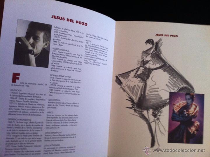 Libros: DISEÑADORES ESPAÑOLES - 1990 - Adolfo Domínguez, Antonio Miró, Jesús del Pozo... - Foto 3 - 50781389
