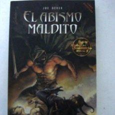Libros: EL ABISMO MALDITO.(UN LARGO Y APASIONATE VIAJE).JOE DEVER.. Lote 133830329