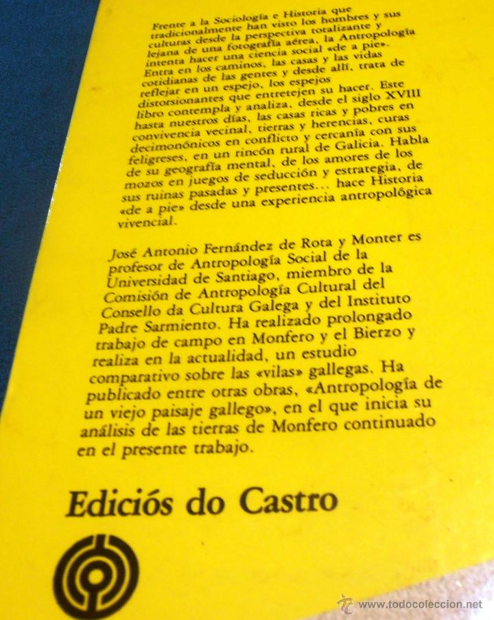 Libros: GALLEGOS ANTE UN ESPEJO, EDICIONES DO CASTRO - Foto 2 - 51634965