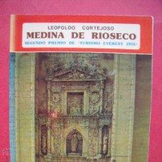 Libros: LEOPOLDO CORTEJOSO.-MEDINA DE RIOSECO.-SEGUNDO PREMIO DE TURISMO EVEREST.-COLECCION IBERICA.-1976.. Lote 51723029
