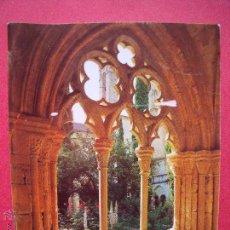 Libros: POBLET.-LA ABADIA DE POBLET.-AÑO 1990.. Lote 51723159