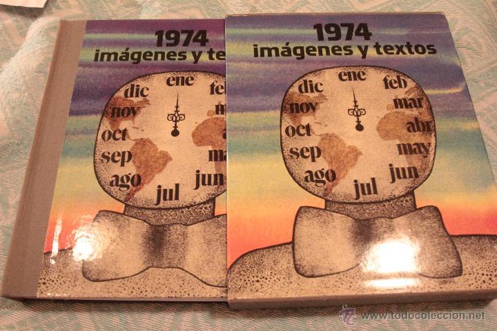 ANUARIO DE 1974, DIFUSORA INTERNACIONAL S.A. CON FUNDA Y PERFECTO ESTADO (Libros sin clasificar)
