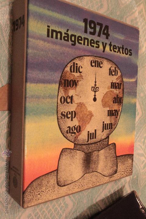 Libros: ANUARIO DE 1974, DIFUSORA INTERNACIONAL S.A. CON FUNDA Y PERFECTO ESTADO - Foto 2 - 53049150