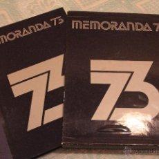 Libros: ANUARIO DE 1973, DIFUSORA INTERNACIONAL S.A. CON FUNDA Y PERFECTO ESTADO. Lote 53049203