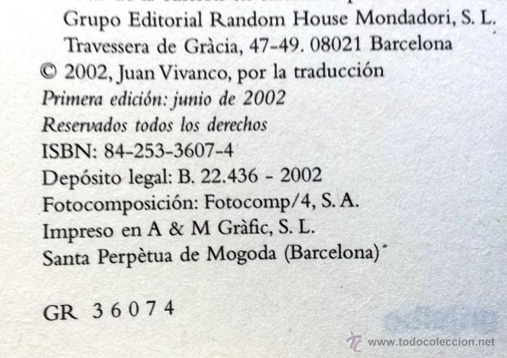 Libros: HILO DE SEDA Carlos Sgorlon Grijalbo 1ª Primera Edición 2002 Tapa Dura Sobrecubierta - Foto 3 - 53110948