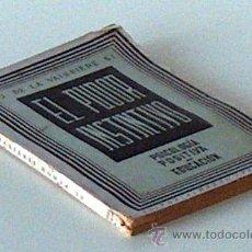 Libros: EL PUDOR INSTNTVO PSICOLOGÍA POSIIVA EDUCACIÓN, J.D LA VAISSIERE 1940, 10 PAGINAS. Lote 53154514