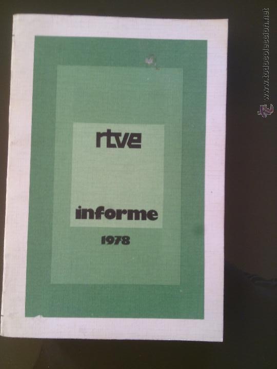 RTVE- INFORME 1978 (Libros sin clasificar)