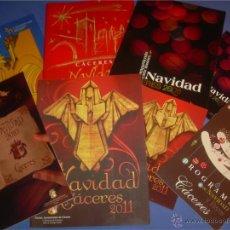 Libros: LOTE 8 REVISTAS Y PROGRAMAS DE LA NAVIDAD DE CÁCERES. AÑOS 2005 A 2011. Lote 53482629