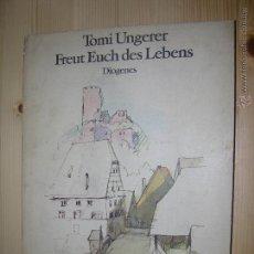 Libros: 80 LAMINAS DE DIOGENES VERLAG INTRODUCCIÓN EN ALEMAN. Lote 53682964