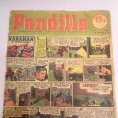 Libros: PANDILLA - SEMANARIO DE HISTORIETAS FAMOSAS - NUM 44 - 7 MAYO 1945. Lote 53751771