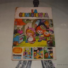 Libros: CUENTO LA CENICIENTA Y LAS HABICHUELAS DEL GIGANTE LLUVIA DE ESTRELLAS 120 ILUSTRACIONES COLOR. Lote 53765460