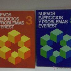 Libros: NUEVOS EJERCICIOS Y PROBLEMAS EVEREST Nº 3 Y 5. Lote 53773970