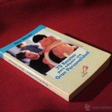 Libri di seconda mano: 70 RECETAS PARA ADQUIRIR UNA GRAN PERSONALIDAD - ELIÉCER SÁLESMAN - SAN PABLO 2001 MINILIBRO. Lote 53794540