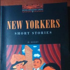 Libros: NEW YORKERS. SHORT STORIES.. Lote 53840759