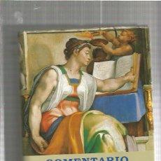 Libros: COMENTARIO AL ANTIGUO TESTAMENTO. Lote 53906621