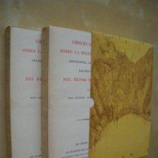 Libros: OBSERVACIONES SOBRE LA HISTORIA NATURAL, GEOGRAFIA, AGRICULTURA, POBLACION Y FRUTOS DEL REYNO DE VAL. Lote 51947473