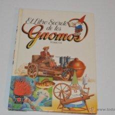 Libros: EL LIBRO SECRETO DE LOS GNOMOS TOMO 14 PLAZA JOVEN 1985 . Lote 53962694