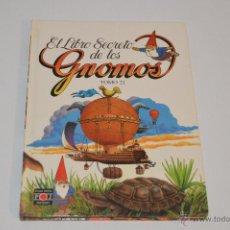 Libros: EL LIBRO SECRETO DE LOS GNOMOS TOMO 21 PLAZA JOVEN 1985 . Lote 53962781