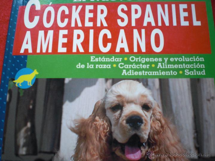 LIBRO PERROS PERRO COCKER SPANIEL AMERICANO ANIMALES DE COMPAÑIA L PICHARD ENVÍO GRATIS (Libros sin clasificar)