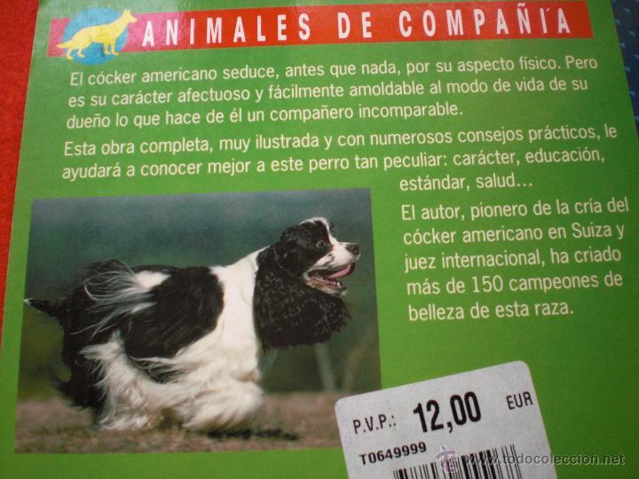 Libros: LIBRO PERROS PERRO COCKER SPANIEL AMERICANO ANIMALES DE COMPAÑIA L PICHARD ENVÍO GRATIS - Foto 2 - 54060114