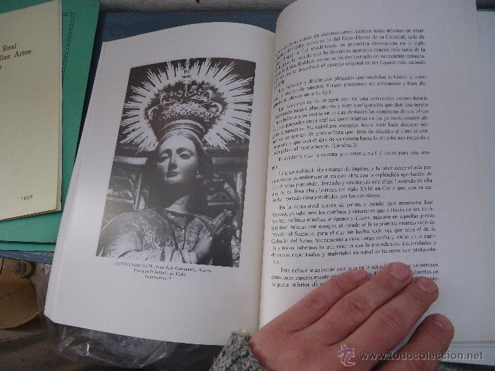 Libros: CADIZ ANALES DE LA REAL ACADEMIA DE BELLAS ARTES 1983 1985 1986 IMAGENES SEMANA SANTA - Foto 16 - 54079017