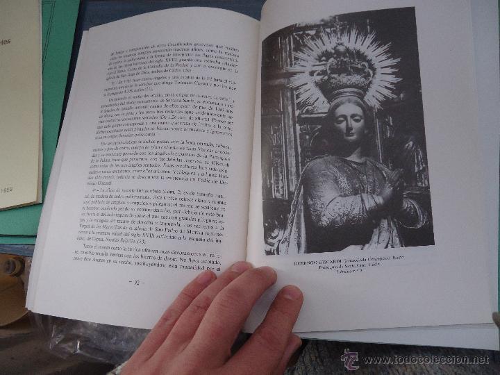 Libros: CADIZ ANALES DE LA REAL ACADEMIA DE BELLAS ARTES 1983 1985 1986 IMAGENES SEMANA SANTA - Foto 17 - 54079017