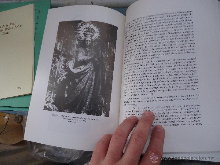 Libros: CADIZ ANALES DE LA REAL ACADEMIA DE BELLAS ARTES 1983 1985 1986 IMAGENES SEMANA SANTA - Foto 18 - 54079017