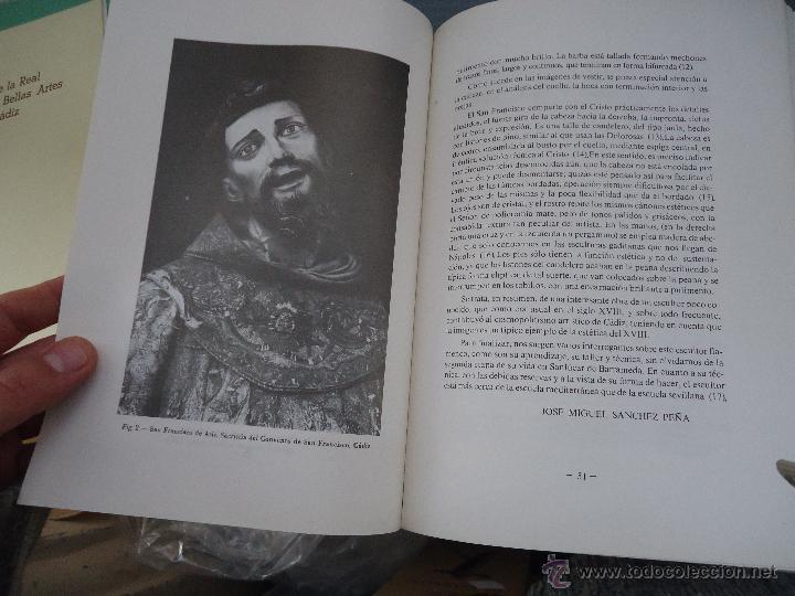 Libros: CADIZ ANALES DE LA REAL ACADEMIA DE BELLAS ARTES 1983 1985 1986 IMAGENES SEMANA SANTA - Foto 24 - 54079017