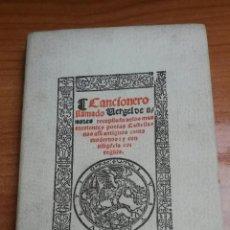 Libros: CANCIONERO LLAMADO VERGEL DE AMORES AÑO 1950. Lote 54098438