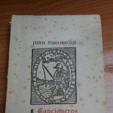 Libros: CANCIONEROS LLAMADOS ENREDO DE AMOR , GUISADILLO DE AMOR Y EL TRUHANESCO AÑO 1951. Lote 54098556