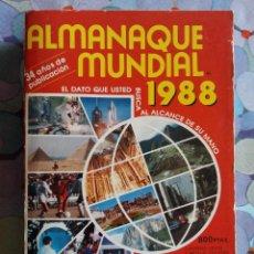 Libros: ALMANAQUE MUNDIAL 1988, EDITORIAL ANDINA SA, 600 PÁG.1980. Lote 54173956