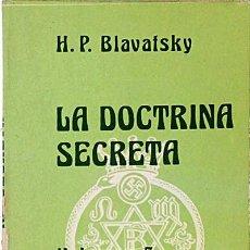 Libros: LA DOCTRINA SECRETA. VOLUMEN 5. CIENCIA, RELIGIÓN Y FILOSOFÍA.. Lote 52192133