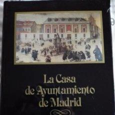 Libros: LA CASA DE AYUNTAMIENTO DE MADRID - PEDRO NAVASCÚES PALACIO Y PEDRO HURTADO OJALVO 1985/414 PAGINAS. Lote 54222268