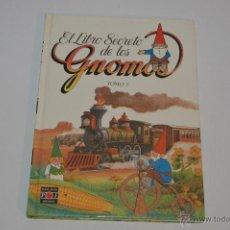 Libros: EL LIBRO SECRETO DE LOS GNOMOS TOMO 3 PLAZA JOVEN 1985. Lote 54389986