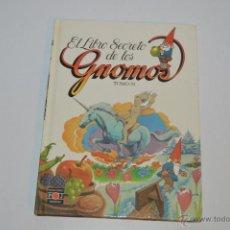 Libros: EL LIBRO SECRETO DE LOS GNOMOS TOMO 19 PLAZA JOVEN 1985. Lote 54390028