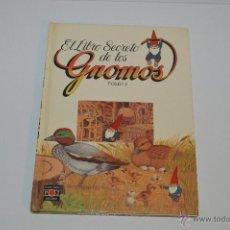 Libros: EL LIBRO SECRETO DE LOS GNOMOS TOMO 5 PLAZA JOVEN 1985. Lote 54390091
