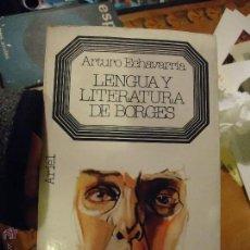 Bücher - libro - arturo echevarria , lengua y literatura de borges , ariel - 54432965
