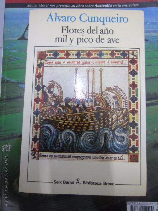 ALVARO CUNQUEIRO FLORES DEL AÑO MIL Y PICO DE AVE (Libros sin clasificar)