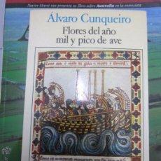 Libros: ALVARO CUNQUEIRO FLORES DEL AÑO MIL Y PICO DE AVE. Lote 54462067