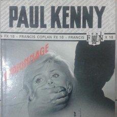 Libros: LIBRO LIVRE DE PAUL KENNY COPLAN PREND LE LARGE. Lote 54520783