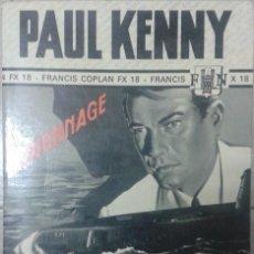 Libros: LIVRE-LIBRO PAUL KENNY LES RENDEZ-VOUS DE COPLAN. Lote 54520839