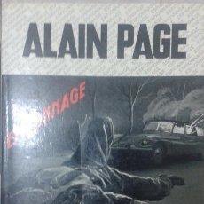 Libros: LIVRE-LIBRO DE ALAIN PAGE. CONTREDANSE PUOR CALONE. Lote 54521221