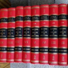 Libros: 10 TOMOS COMPLETA BLASONES Y LINAJES DE EUSKALERRIA. Lote 70585963