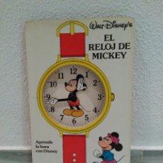 Libros: APRENDE EL RELOJ DE MICKEY CON DISNEY - CUENTO INFANTIL - CIRCULO DE LECTORES - 1990 ALEMANIA. Lote 54776471