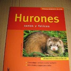 Libros: HURONES (LUTZ BARTUSCHEK) ¡¡OFERTA 3X2 EN LIBROS!!. Lote 54839446